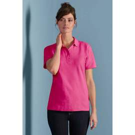 Softstyle� Ladies Double Pique Polo